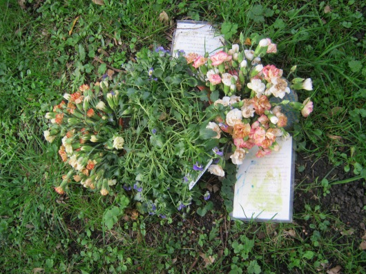 Other offerings in the churchyard